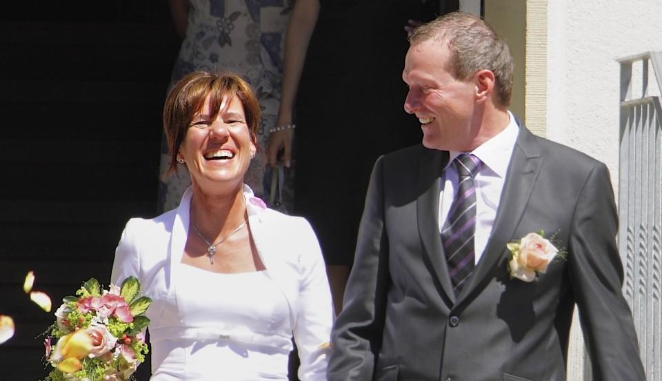 Beas und Rolands Hochzeit